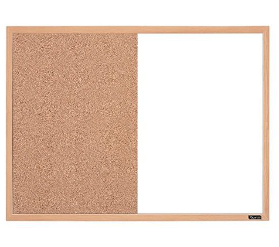 Quartet Dry Erase and Cork Combination Board ONLY $6.00