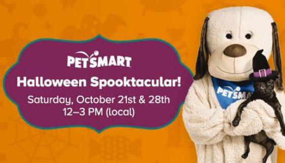 PetSmart Halloween Spooktacular on October 21st **Reminder**