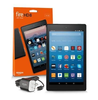 Pre-Owned Amazon Fire HD 8 Tablet ONLY $29.25 + Free Shipping