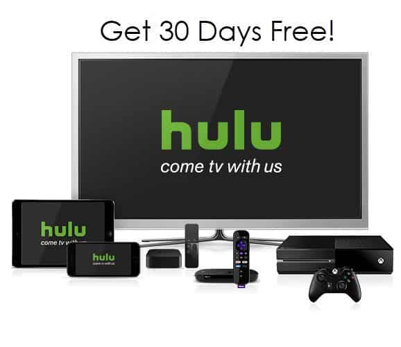 FREE 30 Day Subscription to Hulu