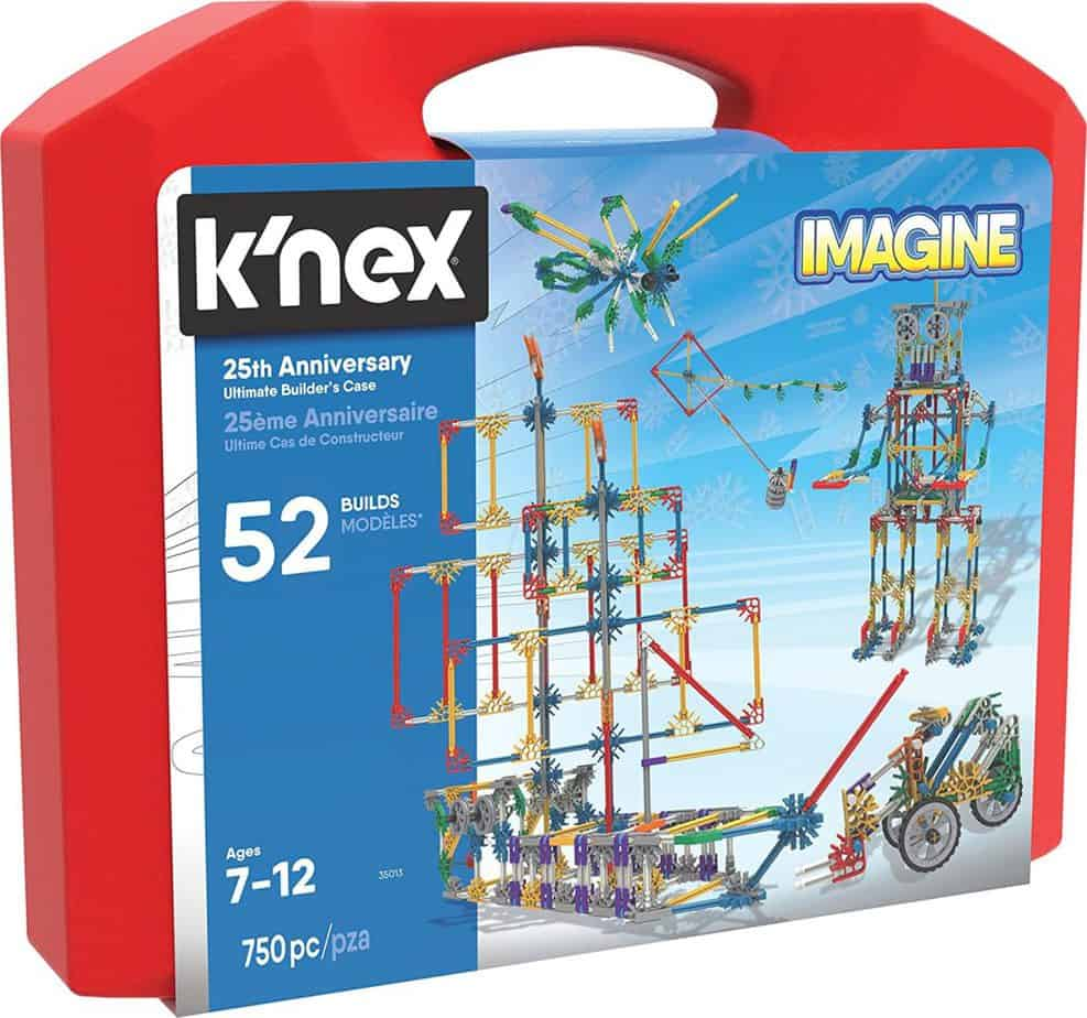 K`Nex Imagine 25th Anniversary Ultimatebuilder's Case Building Kit $31