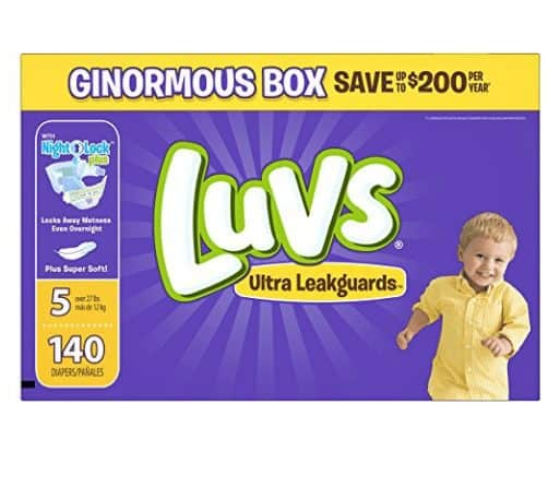 Luvs Ultra Leakguards Diapers Only 13¢ Each