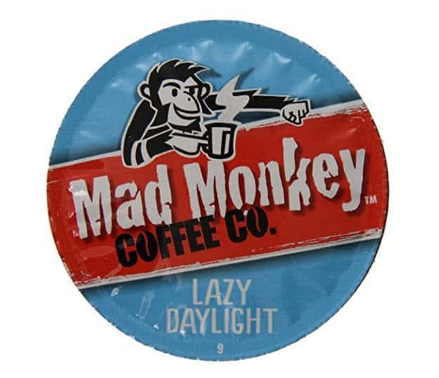 48 Mad Monkey Coffee K-Cups Only $13.82 - 28¢ Per K-Cup