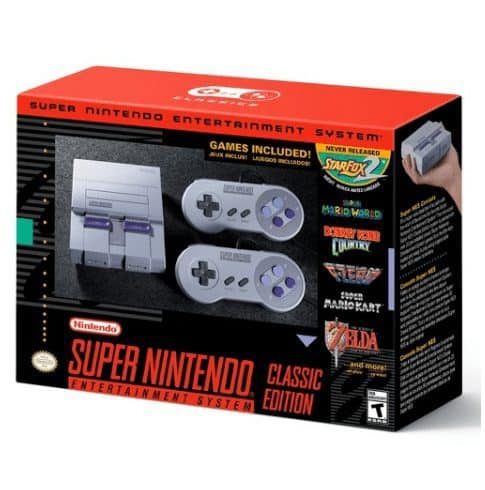 Walmart Selling Nintendo Super NES Classic Consoles Daily at 2pm EST TODAY!
