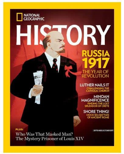 National Geographic History Magazine Deal: Only $18.95/Year