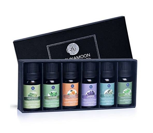 Aromatherapy Top 6 Essential Oils Gift Set ONLY $8.99