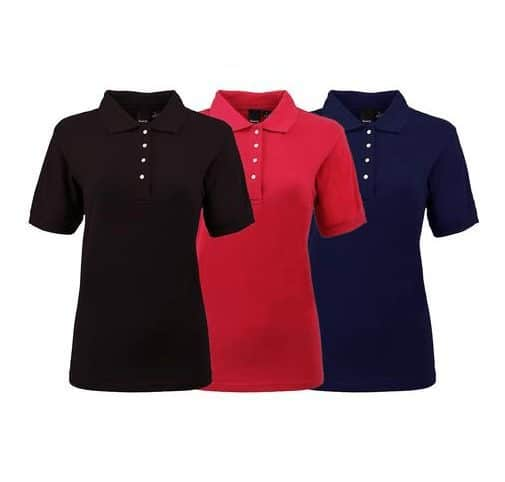 3 Pack of Reebok Women's Mystery Pique Polos Only $29.99 Shipped
