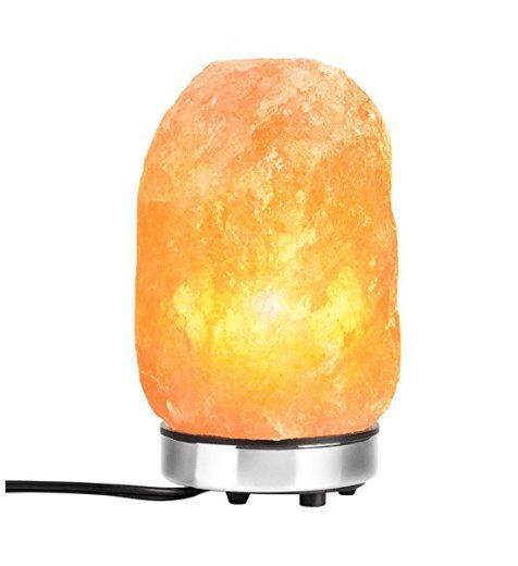 Himalayan Hand Carved Natural Pink Crystal Rock Salt Lamp Only $9.50