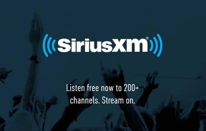 Free SiriusXM Radio Listening Event - FREE Until 7/6