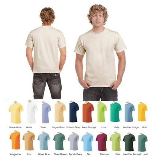 12 Pack of Men's Short-Sleeve 100% Cotton Crew-Neck Tees $18.99 Shipped