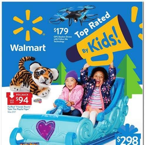 2017 Walmart Toy Book