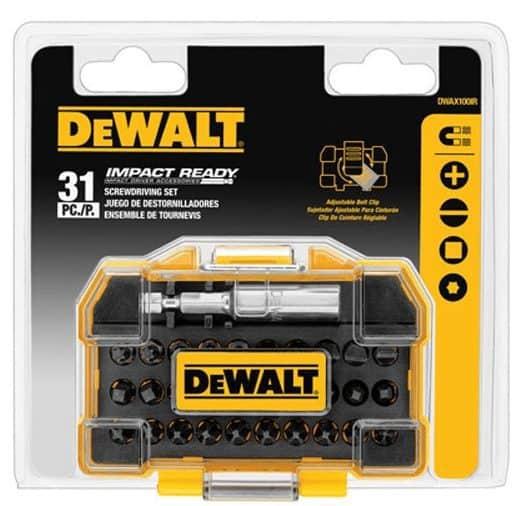 DEWALT Impact Ready Screwdriving Tough Case Set As Low As $3.99 (Was $25)