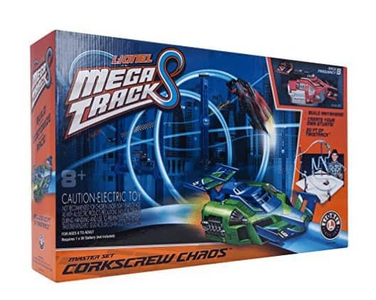Lionel Mega Tracks - Corkscrew Chaos Red Engine ONLY $19.99 (Was $100)