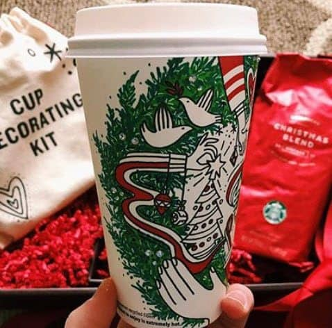 Buy One Starbucks Holiday Beverage, Get One Free 11/9 - 11/13 from 2-5PM