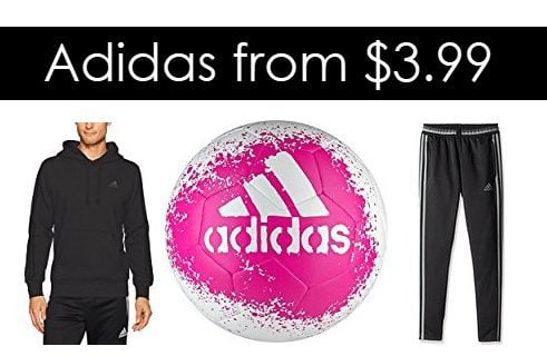 Up to 70% off Adidas Gear - Shorts $3.99 - Shirts $6.99 - and more