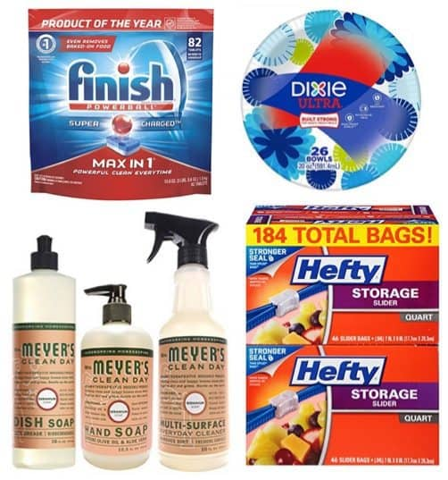 Up to 71% Off Household Essentials + Coupons ~ Ziploc, Hefty, Dixie, & More **Today Only**