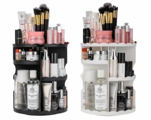 Jerrybox 360-Degree Rotating Makeup Organizer Only $13.99