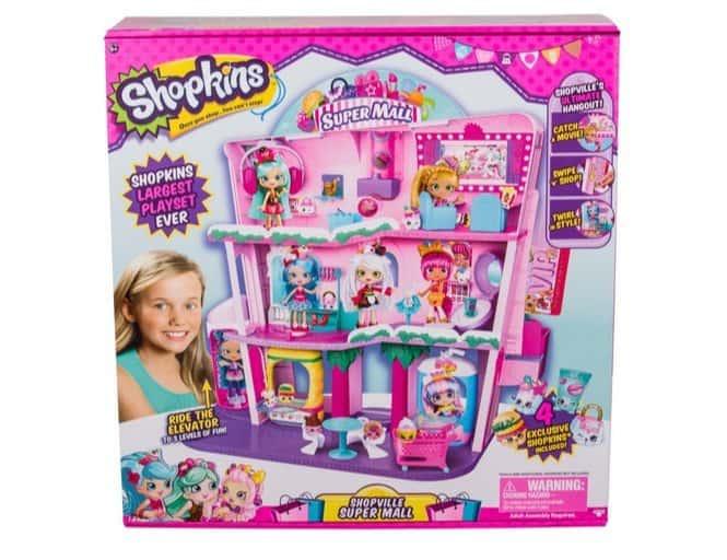 Shopkins Shoppies Shopville Super Mall $56.97