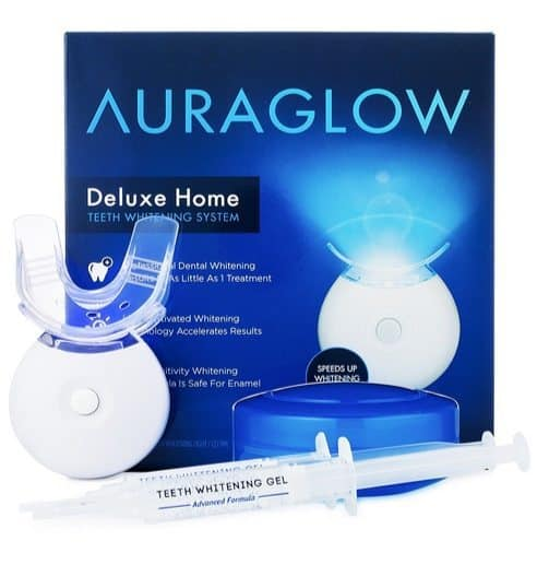 AuraGlow Teeth Whitening Kit $29.99 (Was $100) **Today Only**