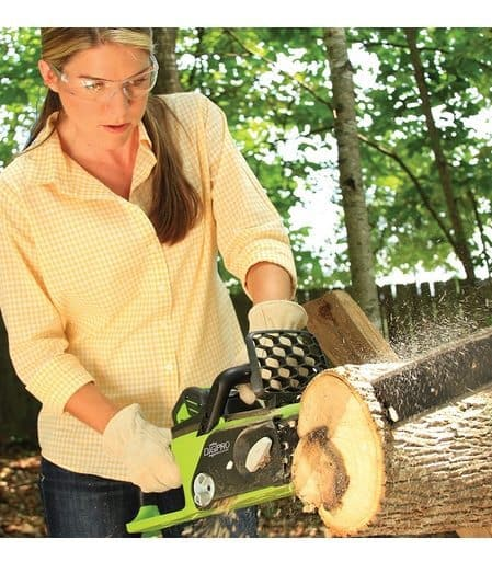 Up to 45% Off Chain Saws ~ Sun Joe Pole Saw Only $52.49