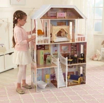 KidKraft Savannah Dollhouse with 13 Accessories Now $69 (Was $149)