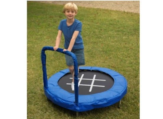 Jumpking 4' Tic-Tac-Toe Trampoline Only $21.26