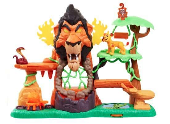 Lion Guard Rise of Scar Playset Only $9.99