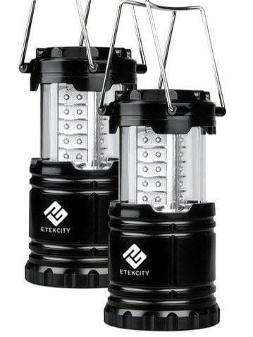 Etekcity 2 Pack Portable Outdoor LED Camping Lantern Flashlights $13.59 (Was $40)
