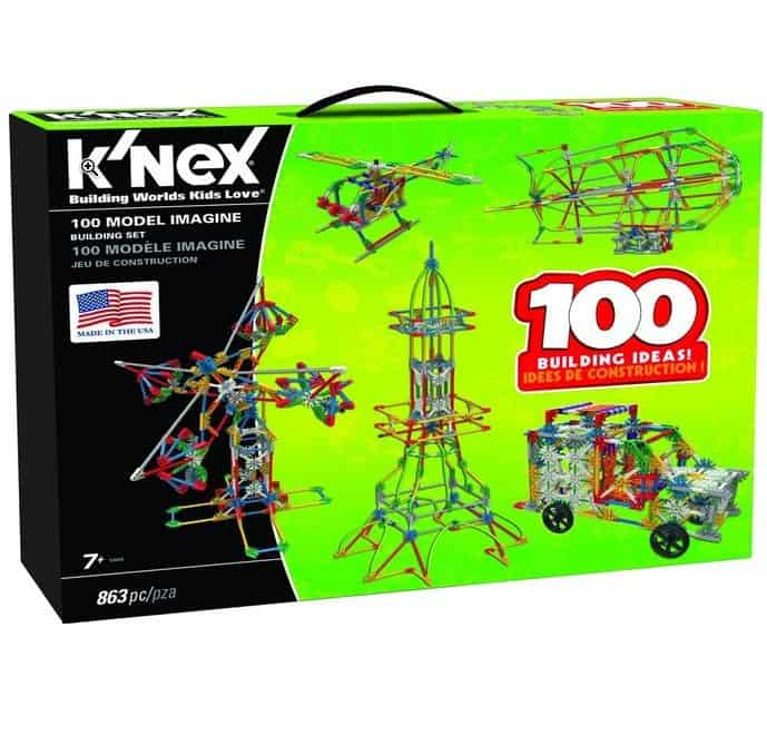 50% Off K'NEX - 863 Piece Building Set Only $25.99 (Was $50) and More!