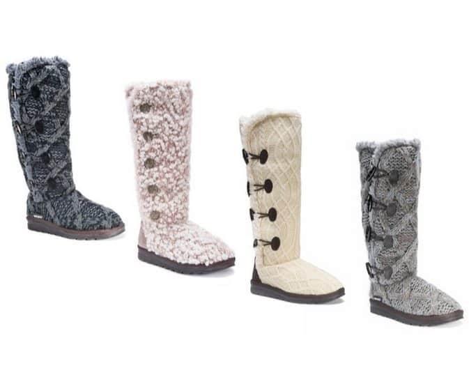 Muk Luks Women's Felicity Boots Only $39.99