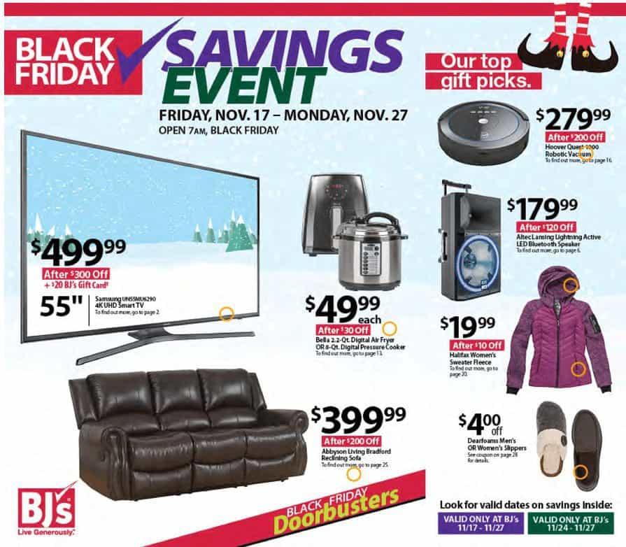 2017 BJ's Black Friday Ad Scan