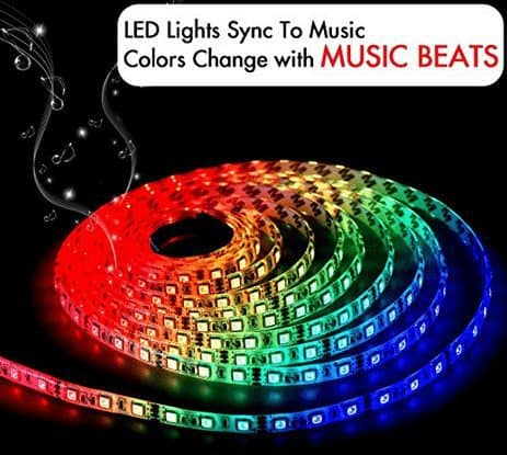 LED Strip Lights That Sync To Music $20 (Was $60)