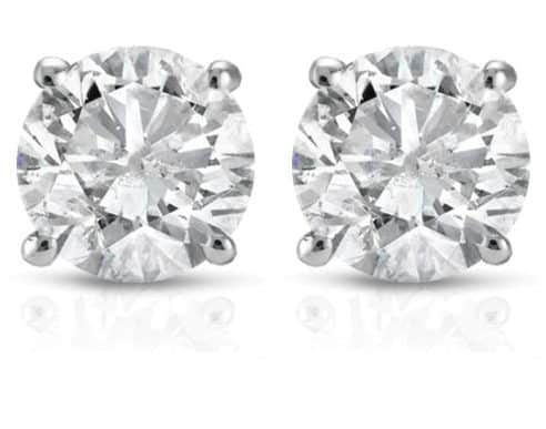 1 CT Diamond Earrings Only $354.99 Shipped **$800 off Retail - $450 LESS Than Kohl's Black Friday Sale**