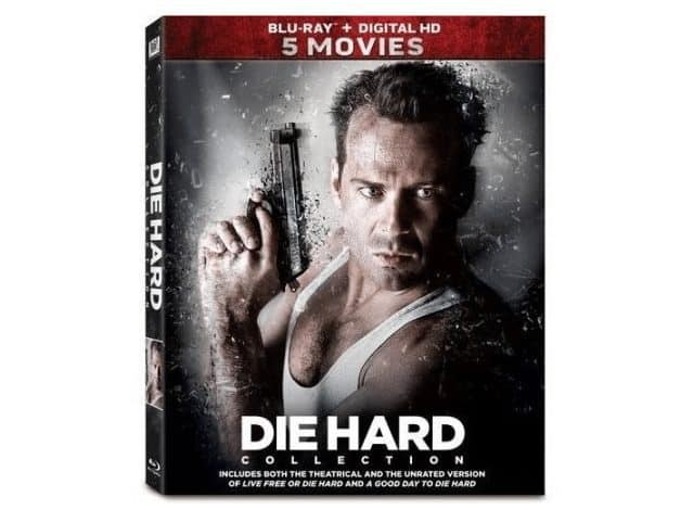 Die Hard 5-Movie Collection (Blu-ray) ONLY $19 - $4 Per Movie!