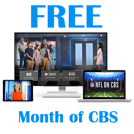 Free One Month Trial to CBS All Access - Stream Preseason Football Games for FREE
