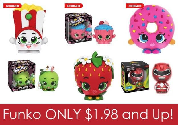 Funko Shopkins/Pops & Dorbz Figures On Sale from $1.98