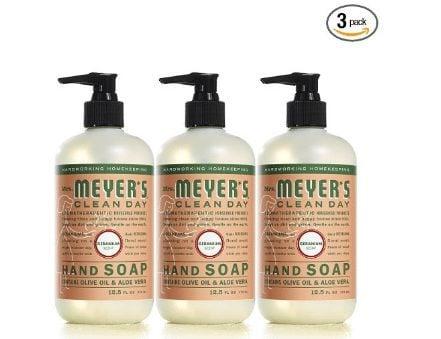 Mrs. Meyer's Liquid Hand Soap 3-Pack Only $3.52