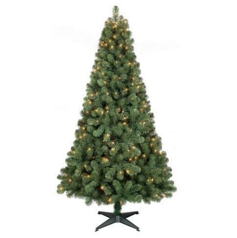 Target: 6ft Prelit Slim Artificial Christmas Tree ONLY $29.99 Shipped