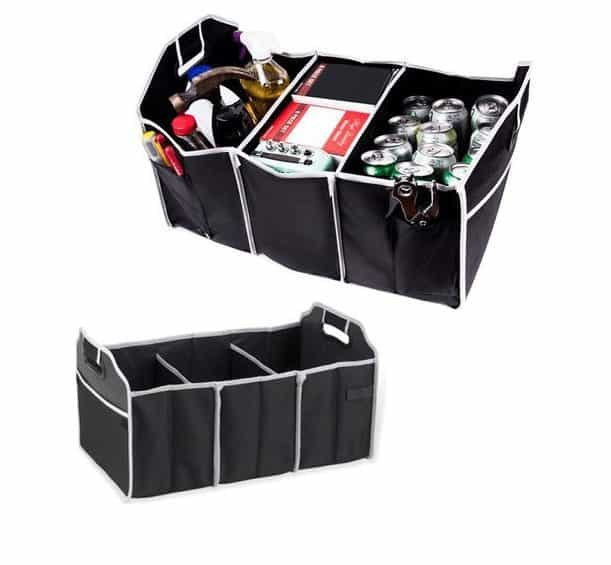 Extra Large Auto Trunk Organizer with 3 Compartments Only $5.99 Shipped