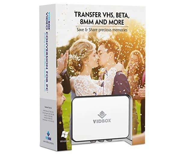 VIDBOX Video Conversion - Convert Old Movies to Digital at HOME!