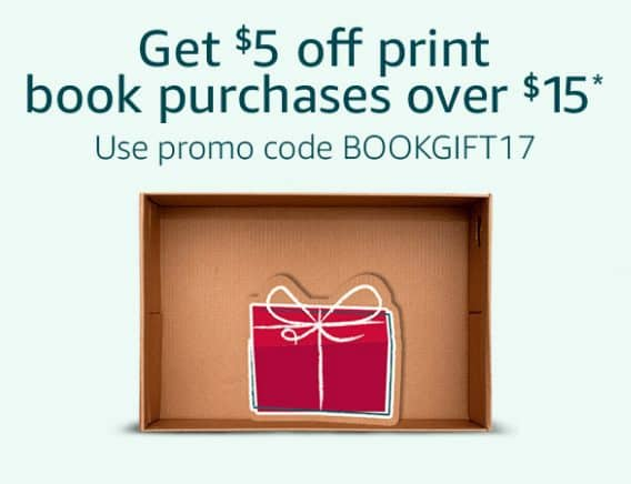 Save $5 off Any $15 Book Purchase @ Amazon **HOT**