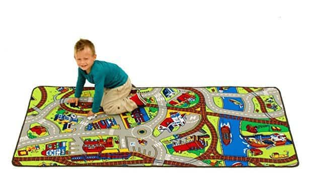 Learning Carpets Ride The Train Play Rug Only $18.78