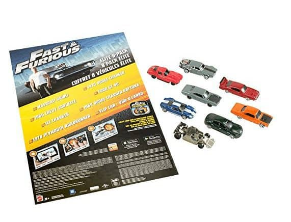 Fast & Furious Elite Diecast Vehicles, 8-Pack ONLY $12.37 (Was $30)