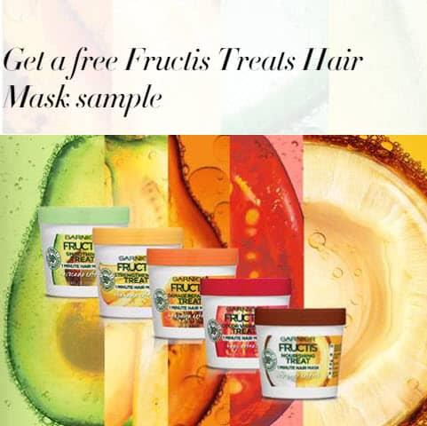 Free Sample Of Garnier Hair Mask