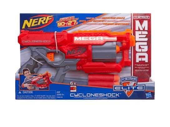 Nerf N-Strike Elite Mega CycloneShock Blaster $10.99 (Was $25)