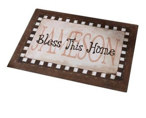 Personalized Bless This Home Doormat ONLY $10 Each