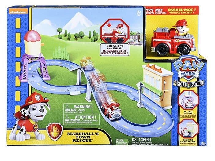 Amazon Toy Deal - Paw Patrol Roll Patrol – Marshall's Town Rescue Track Set ONLY $13.15