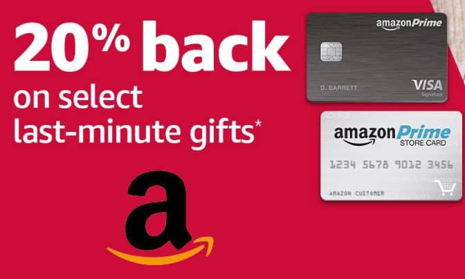 20% Back on Select Amazon Purchase w/ Amazon Prime Store Card