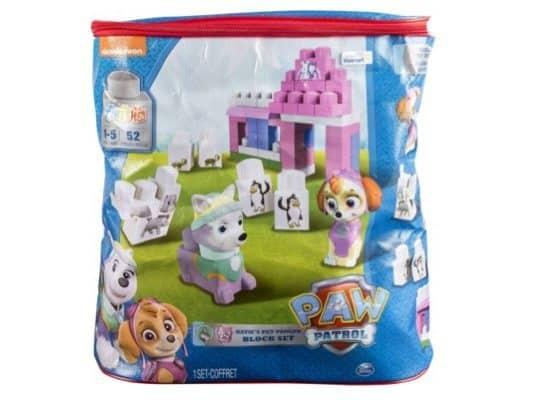 IONIX Jr. Paw Patrol Katie's Pet Parlor Block Set Only $13.97