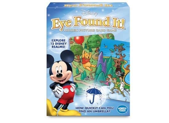 World of Disney Eye Found It Card Game Only $4.79